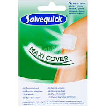 Salvequick Apósito maxi cover Caja 5 unid