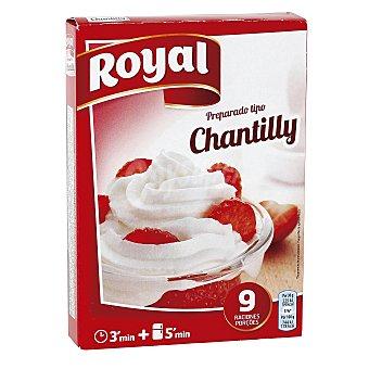 Royal Crema Chantilly Caja 72 g ( 9 raciones )