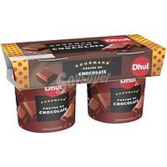 Gourmand Postre de chocolate Pack 2x150 g