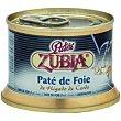 Paté de foie Lata 125 g Zubia