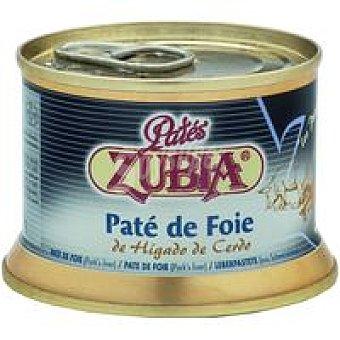 Zubia Paté de Foie Lata 130 g