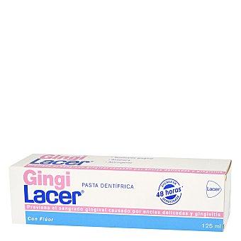 Lacer Gingilacer pasta dentífrica que previene el sangrado gingival con flúor Tubo 125 ml