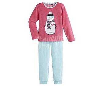 In Extenso Pijama largo de niña de terciopelo talla 8