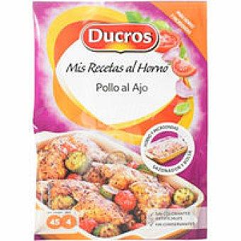 Ducros Horno de pollo-ajo Frasco 28 g