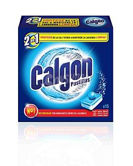 Calgon Antical lavadora Caja 15 pastillas