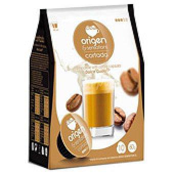CAPS.CAFE ORIGEN CORTADO 16 UNI
