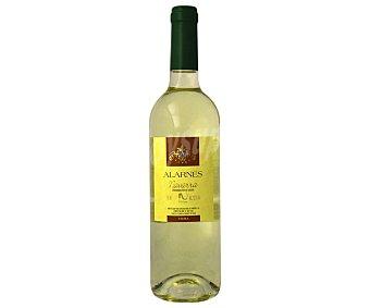 Alarnes Vino blanco con denominación de origen Navarra Botella de 75 cl