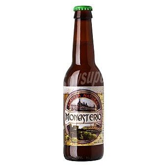 Monasterio Cerveza natural rubia 33 cl