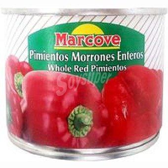 MARCOVE Pimiento morrón entero Tarro 125 g