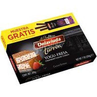 Delaviuda Turrón yogufresa + 3 sticks 70% Caja 236 g