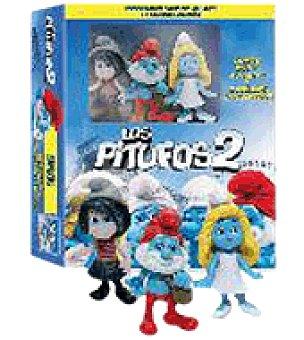Los pitufos 2 BR combo br+dvd +figuritas