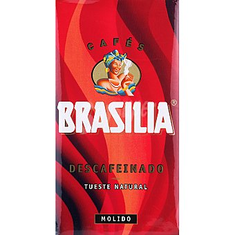 Brasilia Café Descafeinado Molido 250 g