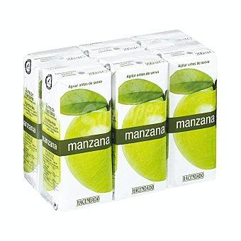 Hacendado Zumo manzana 6 x 200 ml