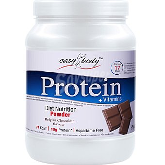 EASY BODY Protein Powder Sabor chocolate Bote 350 g