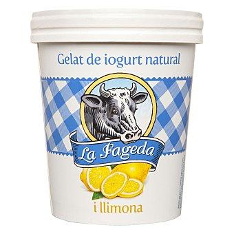 La Fageda Helado de yogur natural y limón 500 ml