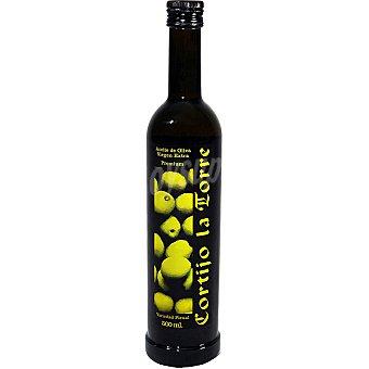 CORTIJO LA TORRE Aceite oliva virgen extra  botella 500 ml