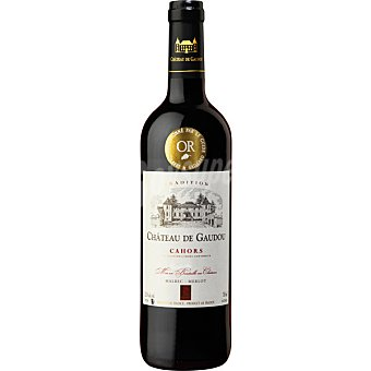 CHATEAU DE GAUDOU Vino tinto Cahors Francia botella 75 cl