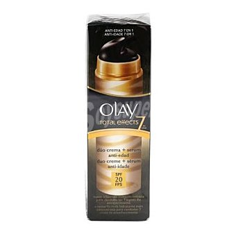 Olay Crema + Serum dúo Total Effects 7 in one SPF 20 1 ud