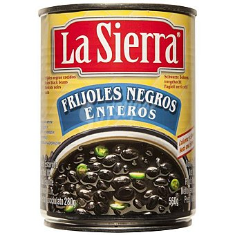 LA SIERRA Frijoles negros enteros Lata 560 g