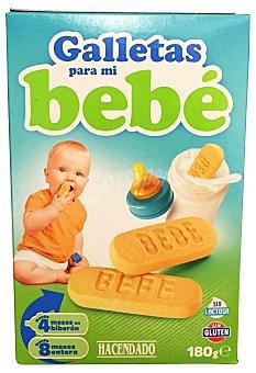 HACENDADO Galletas para mi bebe sin gluten  Caja de 180 g