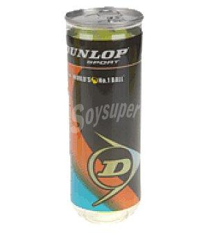 Dunlop 3PELOTAS dunlop tenis pro tour