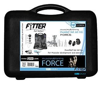 FYTTER Conjuto de pesas con comodo maletín de transporte 1 Unidad