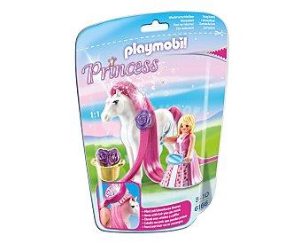 Playmobil Playset de juego Princesa rosa con caballo, incluye accesorios, ref. 6166 Princess 1 unidad