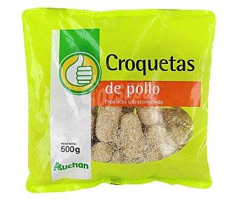 Productos Económicos Alcampo Bolsa de croquetas de pollo 500 gr