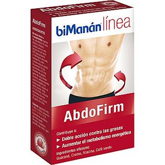 BIMANAN LINEA Abdofirm Cápsulas doble acción contra las grasas envase 26 g Envase 26 g