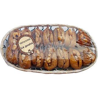 La Guaña Cesta nº25 higos cuello dama, almendras fritas, avellana tostada y nuez hidromiel 250 g 250 g