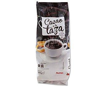 Auchan Cacao a la taza Bolsa de 400 gramos