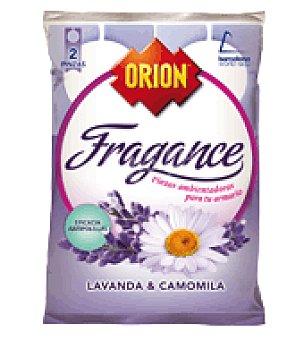 Orion Pinza antipolillas perfume lavanda sin naftalina 2 unidades