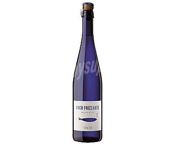 BACH FRIZZANTE Vino blanco moscato espumoso de Cataluña  botella 75 cl