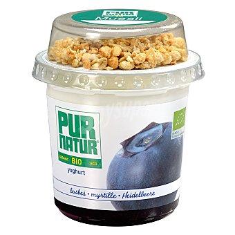 Pur Natur Yogur con arándanos ecológico y muesli envase 150 g Envase 150 g