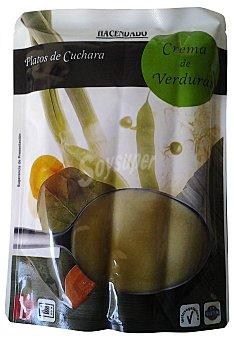 Hacendado Crema liquida verdura Sobre 330 cc
