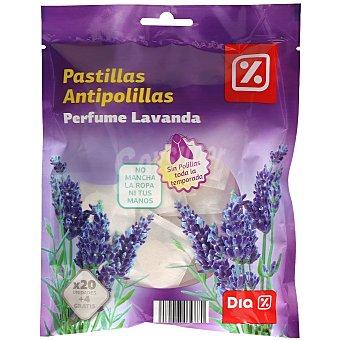 DIA Pastillas antipolillas perfume lavanda  Paquete 24 uds