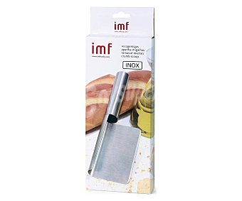 IMF Recogemigas fabricado en acero inoxidable, mango y recogedor en una sola pieza 1 unidad