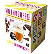 Cápsulas café cappuccino 10 unidades Mushu