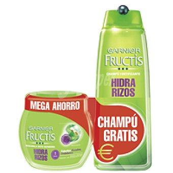 Fructis Garnier Mascarilla hidrarizo Tarro 400 ml + Champú