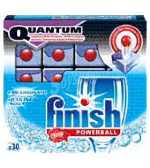 FINISH CALGONIT Detergente Lavavajillas quantum Bicarbonato 30 ud