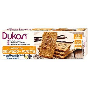 Dieta Dunkan Galleta salvado de avena con semillas de amapola sabor vainilla envase 225 g Envase 225 g