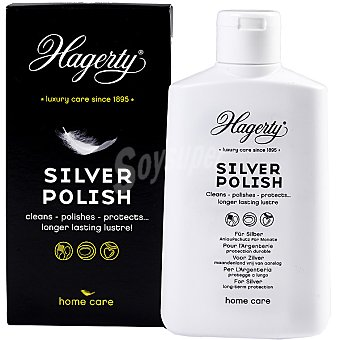 HAGERTY Limpia plata Silver Polish líquido Bote 250 ml