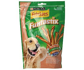 Purina Friskies Funtastix barritas sabor queso y bacón para perros Envase 175 g (6 uds)