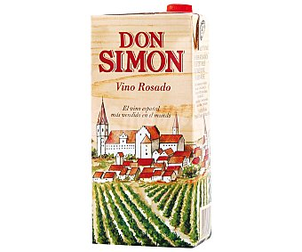 Don Simón Vino Rosado de mesa Brik 1 litro