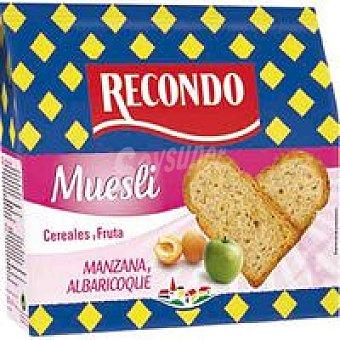 RECONDO Pan tostado muesli paquete 180 g