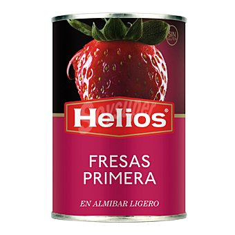 Helios Fresas en almíbar Lata 145 g