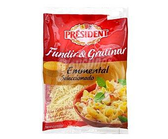 President Queso Rallado Enmental Envase 90 g