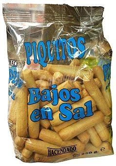 Hacendado Piquito bajo en sal Paquete 250 g