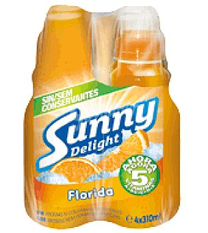 Sunny Delight Zumo Florida Pack de 4x310 ml