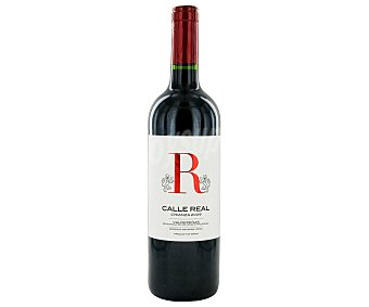 CALLE REAL Vino Tinto Crianza Botella de 75 Centilítros